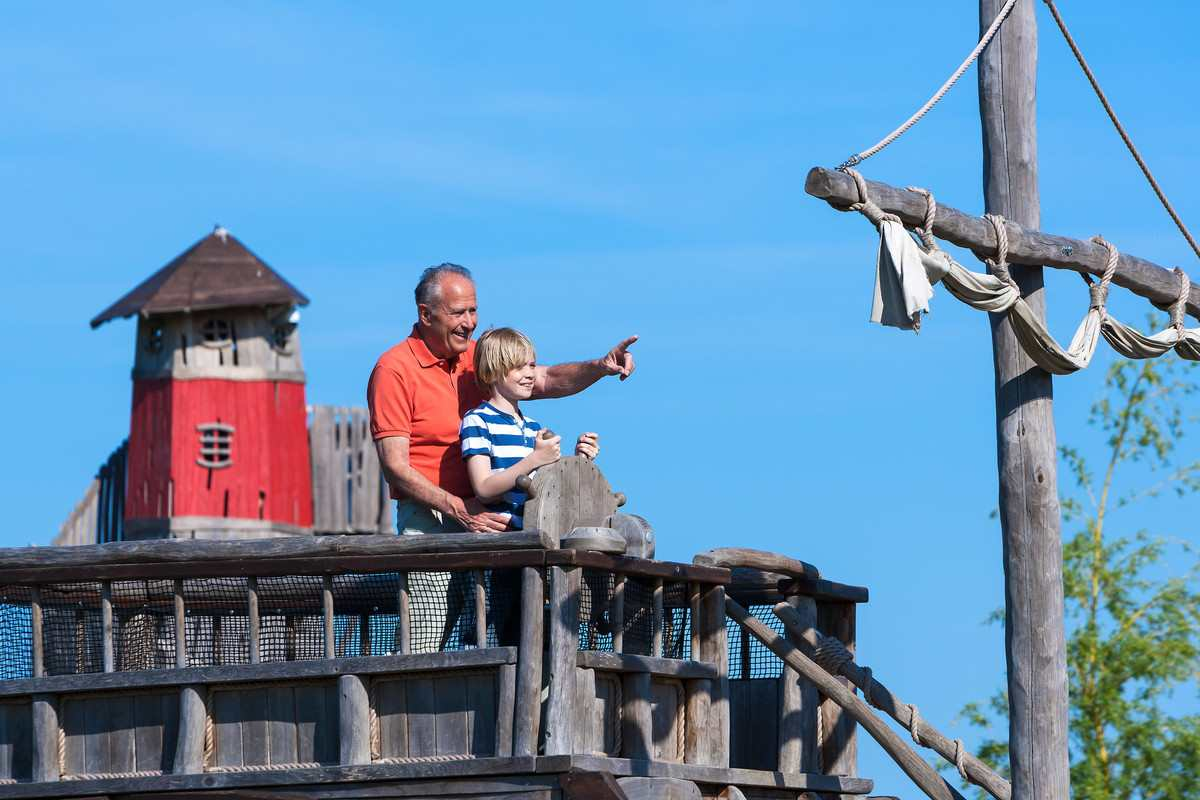 Pirateninsel Usedom in Trassenheide