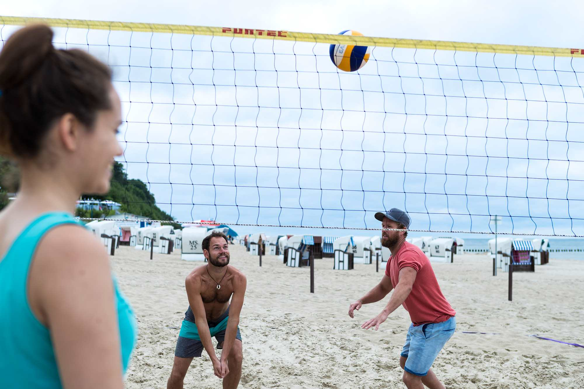 Beachvolleyball am Usedomer Strand